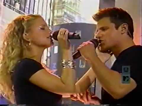 Nick Lachey & Jessica Simpson - TRL *Where You Are*