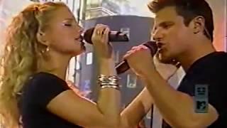 Nick Lachey & Jessica Simpson - TRL *Where You Are*