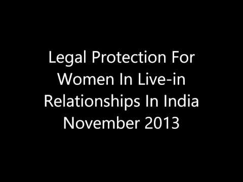 Legal Protection For Women In Live-in Relationships In India