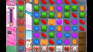 Candy Crush Saga Level 277 - 1 Star - no boosters