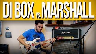 DI Box Behringer Ultra G vs. Marshall JMP
