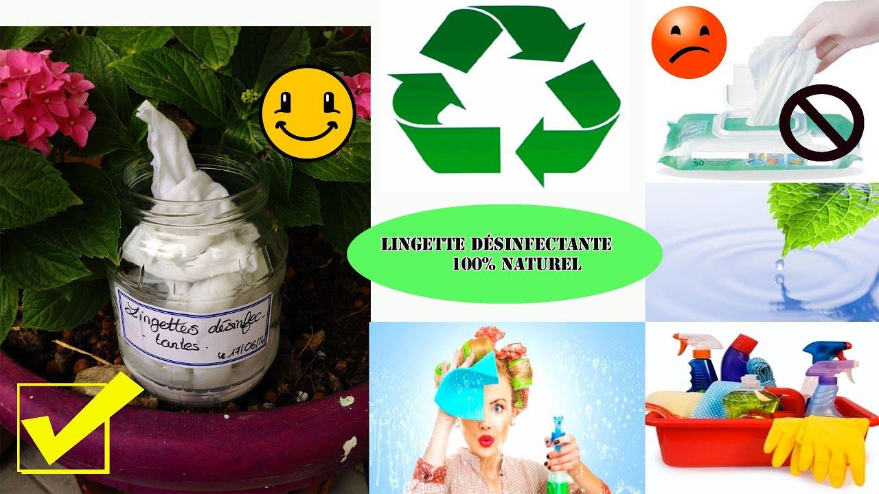 Exceptionnel DIY Lingette désinfectante pour la maison 100% naturelle facile  DG68