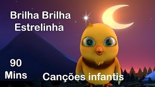 Brilha Brilha Estrelinha    Twinkle Twinkle Little Star in Portuguese