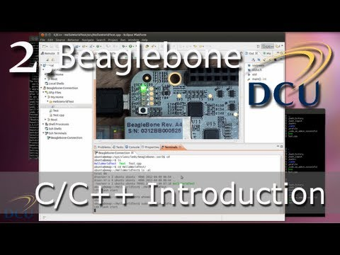Beaglebone: C/C++ Programming Introduction for ARM Embedded Linux Development using Eclipse CDT