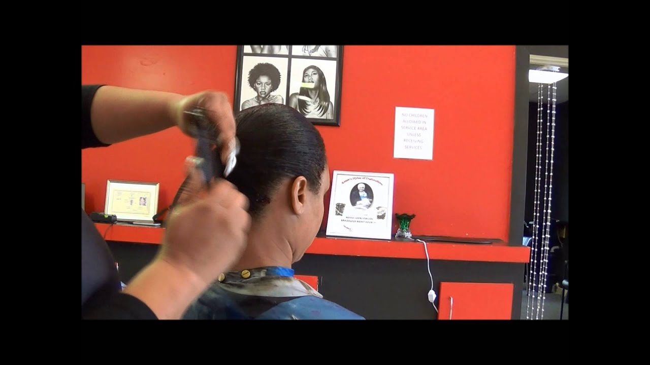 Instructional Video Quick Weave Mold Longer Hair No Braids