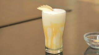 سموزي التفاح بالكراميل  | شريف الحطيبي