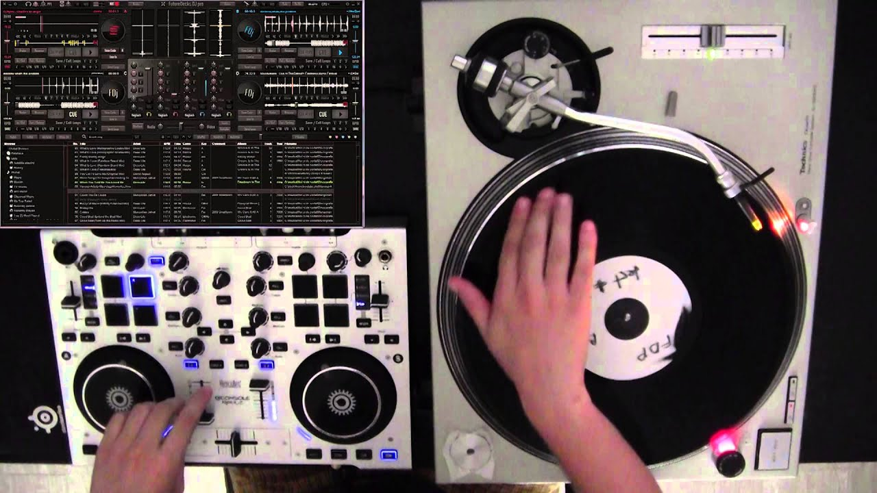Turntable Timecode Vinyls And Dj Mixing Software Youtube