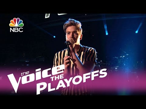 """The Voice 2017 Noah Mac - The Playoffs: """"In the Air Tonight"""""""