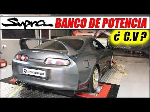 ¡¡ LLEVO MI TOYOTA SUPRA TWIN TURBO AL BANCO DE POTENCIA !! | Supercars of Mike