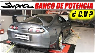 ¡¡ LLEVO MI TOYOTA SUPRA TWIN TURBO AL BANCO DE POTENCIA !! | Supercars of Mike