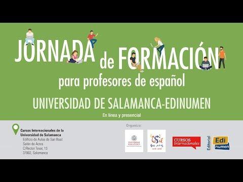 Jornada de formación para profesores de español. Universidad de Salamanca - EDINUMEN