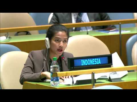 INDONESIA - First Right Of Reply By Nara Masista Rakhamatia On UN