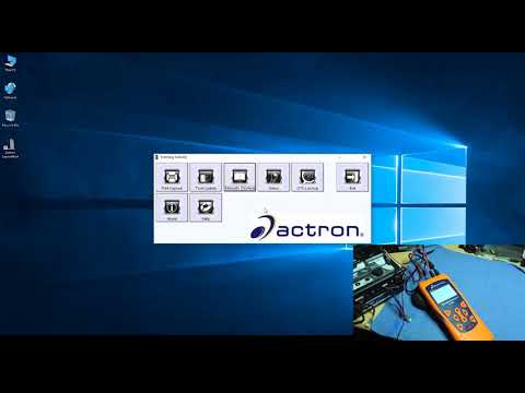 actron cp9185 update
