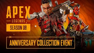 With the second anniversary of apex legends rolling around, it looks like we're getting first collection event right at start, a bunch old fa...