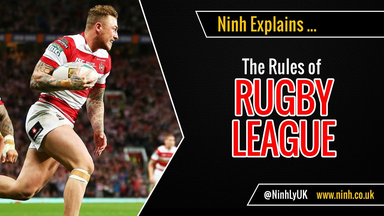 The Rules Of Rugby League Explained Youtube Rugby Rules Rugby League Rugby