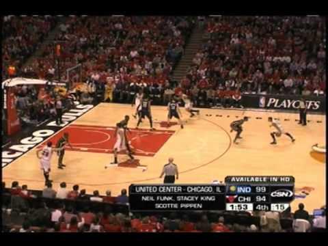 Bulls vs Pacers 2011: Derrick Rose Highlights