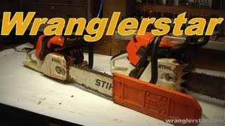 How To Service A Chainsaw Part 1 of 2