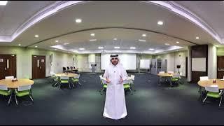 فيديو بتقنية ٣٦٠ درجة لمبنى الأكاديمية الأولمبية القطرية