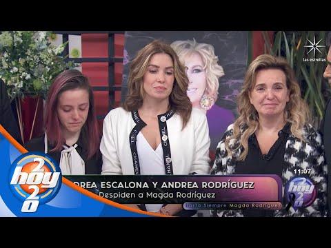Primeras declaraciones de Andrea Escalona tras el fallecimiento de su mamá | Hoy