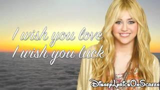 Hannah Montana I 39 ll Always Remember You Lyrics HD.mp3