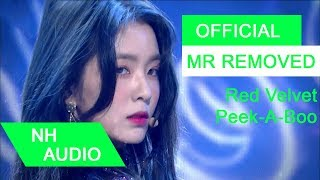 Download Lagu [MR Removed] Red Velvet - Peek-A-Boo Mp3