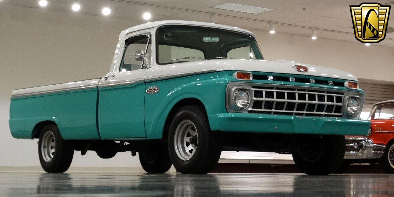 1965 ford f100 gateway classic cars stl 6791