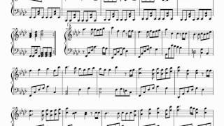 【雨夢楼】 Amayumerou - Piano Sheet Music 【鏡音リン・鏡音レン・初音ミク】