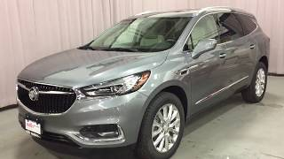 2018 Buick Enclave AWD Handsfree Lift Sunroof 6 Passenger Silver Oshawa ON Stock #180767