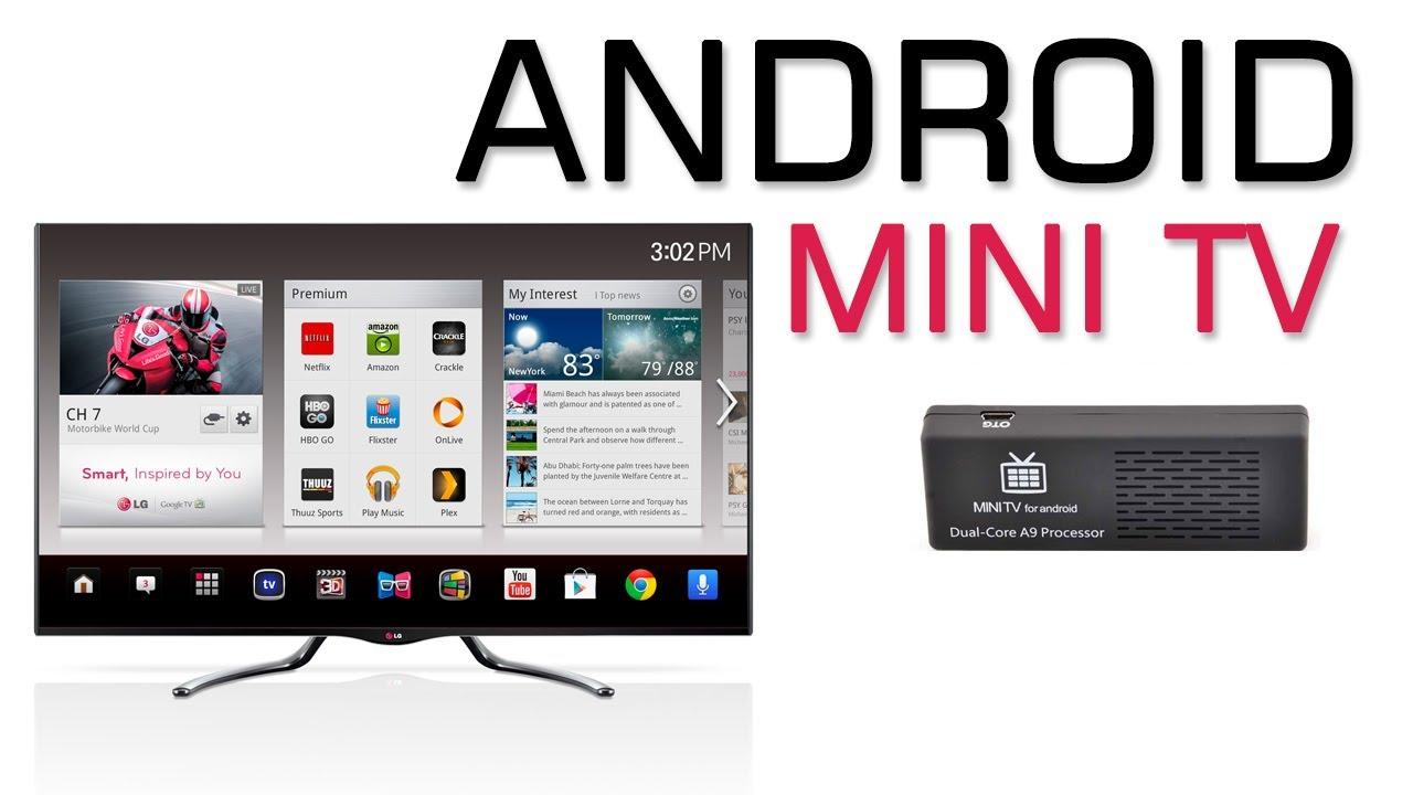 Android Mini TV MK808B - YouTube