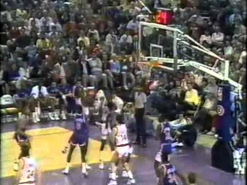 27.01.1989. – Knicks@Suns: Tom Chambers vs Patrick Ewing, Chambers Legendary Dunk On Mark Jackson