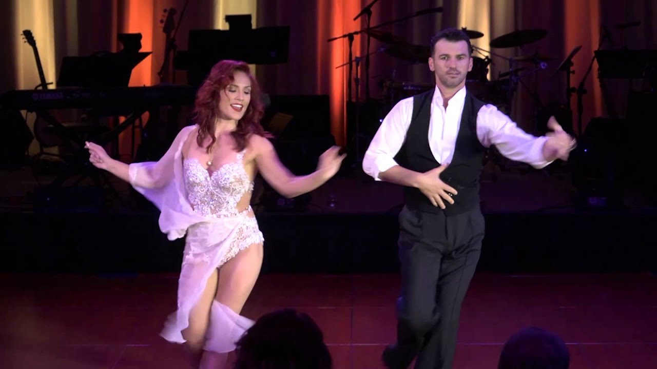 Tony Dovolani & Sharna Burgess 2015 BMA Foundation Dancing ...