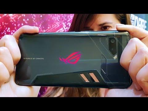 EL FERRARI DE LOS TELÉFONOS!! Locura Gaming Asus Rog Phone