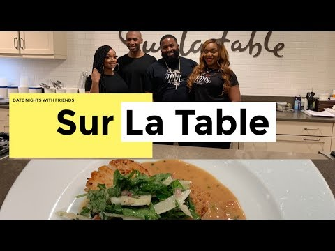 DATE NIGHT: COUPLES COOKING CLASS at Sur La Table