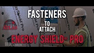 Rodenhouse Fasteners to attach Energy Shield Pro Insulation from Atlas