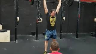 Open 18.5 Test 2 CrossFit Erer (103reps)