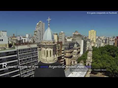 Conheça a cidade de Rosario - Argentina (Vista aérea) - Eu na Argentina