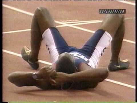 Michael Johnson 400m Final, 43.18 (Former WR) - 1999 Seville World Championships