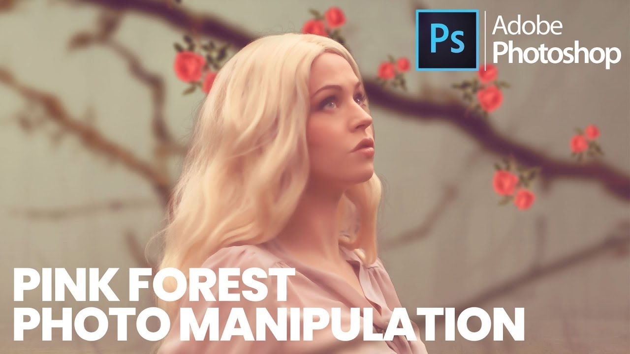 Pink Forest Photo Manipulation Effects | Photoshop CC 2018 – Tutorial