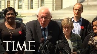 Bernie Sanders And Other Progressives Are Unveiling A Bill To Cancel Student Debt | TIME