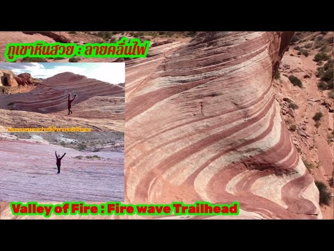 สถานที่ท่องเที่ยวที่สวยที่สุดในโลก จุดที่ 4 : Fire Wave Trailhead