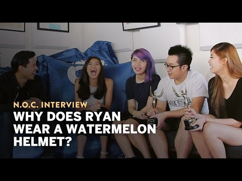 Why does Ryan Wear a Watermelon Helmet? - Night Owl Cinematics Interview
