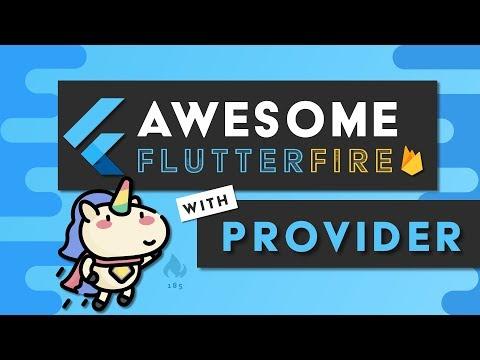 Flutter Provider with Firebase