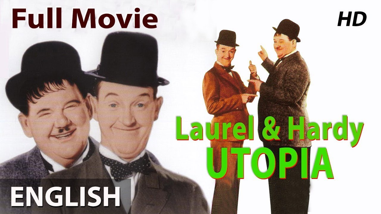 LAUREL AND HARDY in UTOPIA (Remastered) - English Comedy Movies | Classic Movies 1951