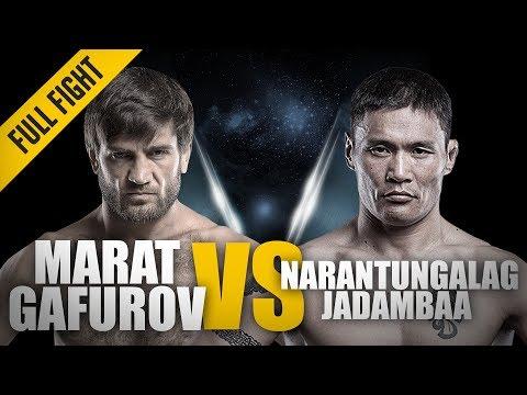 ONE: Full Fight | Marat Gafurov vs. Narantungalag Jadambaa | The Submission Machine | November 2015