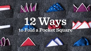 Pocket Square | A Ties.com Kat 12 Yolu