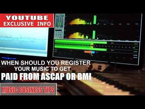 LEARN WHEN TO REGISTER YOUR MUSIC TO GET PAID