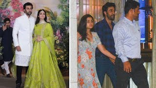 Ranbir Kapoor Late Night Visit To Alia Bhatts House | Latest Bollywood Gossips 2018