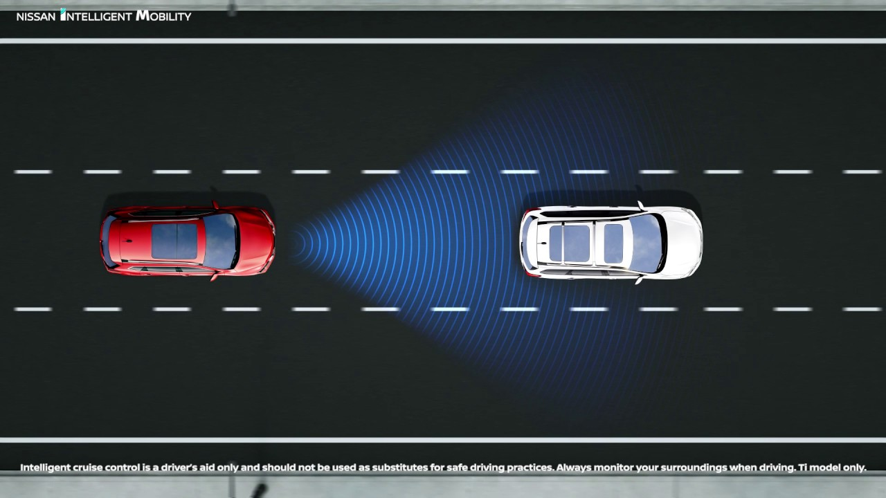 Cruise Control Should Not Be Used >> Nissan X Trail Intelligent Cruise Control