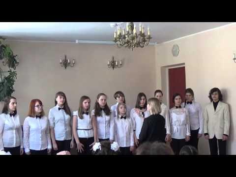 2016-03-25 старший хор ДМШ г.Апатиты хормейстер В.Филин