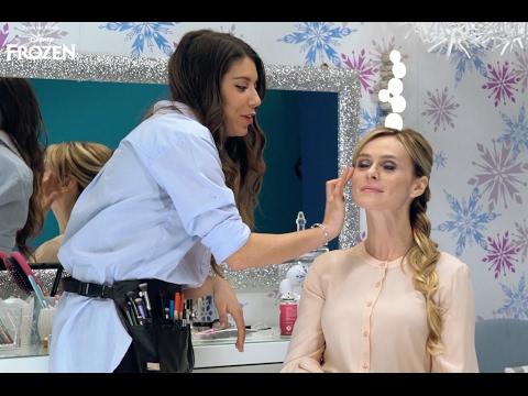 Frozen Segreti Per Un Frozen Look Con Adriana Spink Un Trucco Da